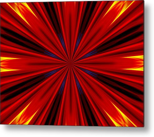 Abstract Photography Metal Print featuring the photograph Coventina by Danny Lally