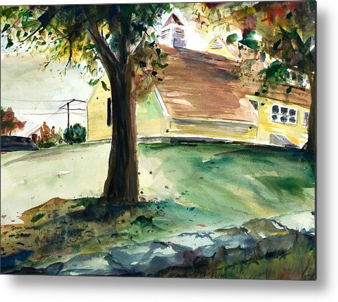 Yard Metal Print featuring the painting Cupola by Scott Nelson