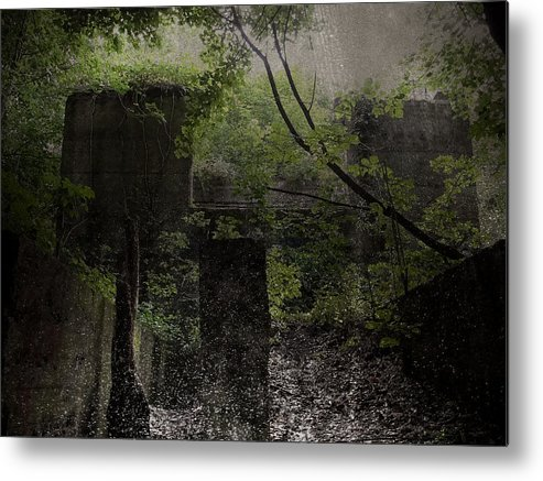 Abandoned Metal Print featuring the photograph Days Like This by Brandon Wunder