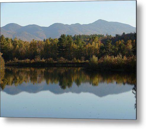 Mountains Metal Print featuring the photograph Easton Reflection by Mia Capretta