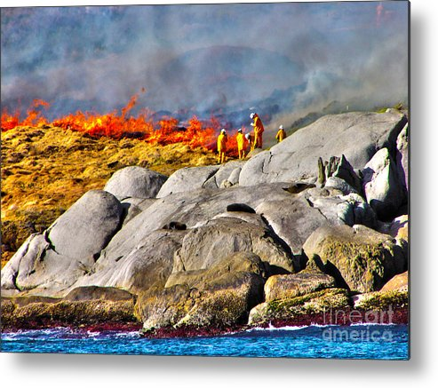 Fire Metal Print featuring the photograph Elements by Joanne Kocwin