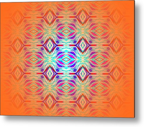 Abstract Photography Metal Print featuring the photograph Eris No.1 by Danny Lally