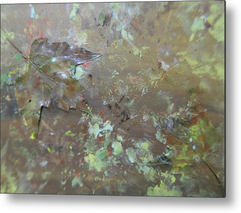 Fall Metal Print featuring the painting Fall Impressions by Heather Burbridge