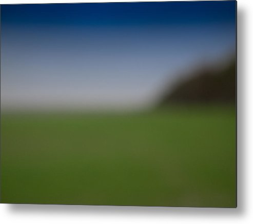 Abstract Metal Print featuring the photograph Field Of Dreams by Paul Roach