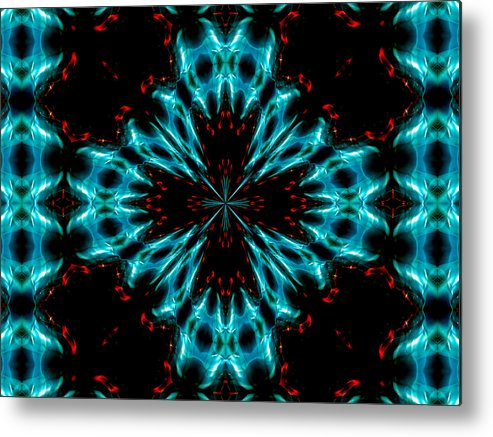 Abstract Photography Metal Print featuring the photograph Grannus No.2 by Danny Lally