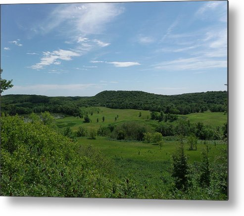 Green Hill Heaven Metal Print featuring the photograph Green Hill Heaven by Brian Maloney