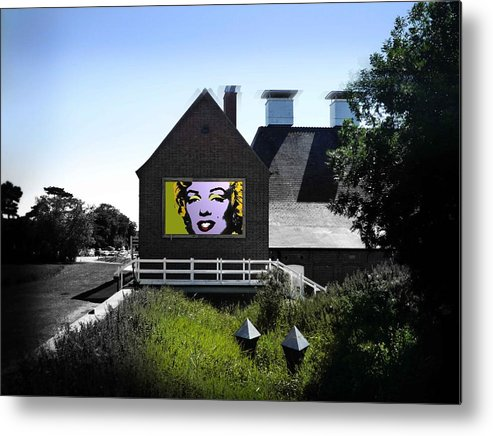 Marilyn Metal Print featuring the photograph Heatwave by Charles Stuart