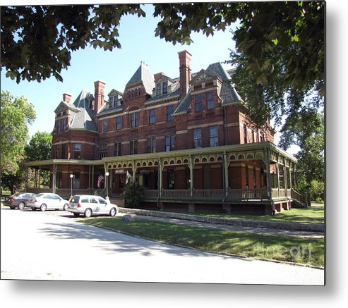 Hotel Metal Print featuring the photograph Hotel Florence Chicago Illinois by Cedric Hampton