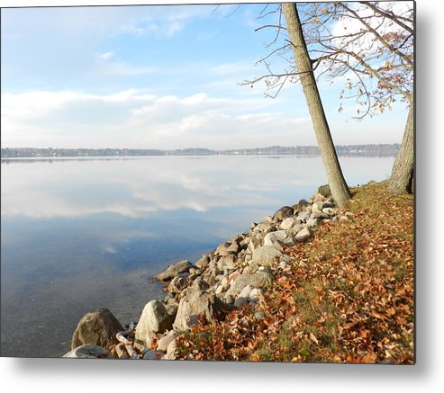 Nature Metal Print featuring the photograph Indian Summer Day by Dennis Leatherman