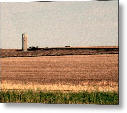 Iowa Metal Print featuring the photograph Iowa Landscape V by David Ritsema