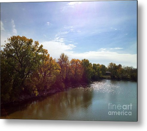 Lake Metal Print featuring the photograph Lakefront by Jeremy Linot