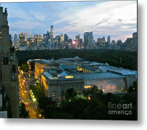 Skyline Metal Print featuring the photograph Looking South Nyc by Randi Shenkman