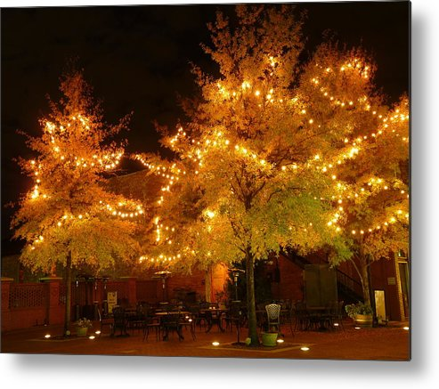 Greenville Metal Print featuring the photograph Main Street Nights 13 by Craig Johnson