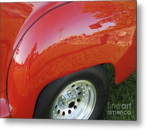 Fender Metal Print featuring the photograph Microcosm by Luke Moore