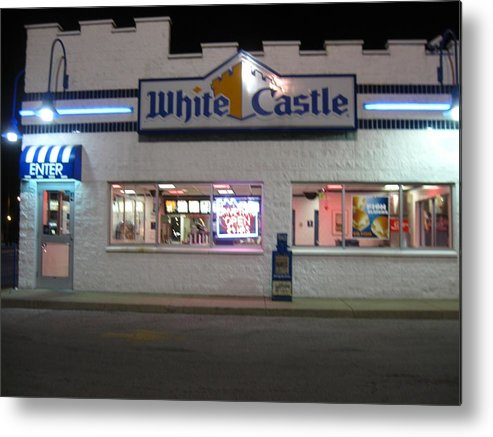 White Castle Metal Print featuring the photograph Midnight Snack by Todd Sherlock