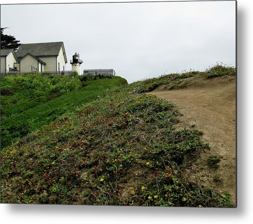 Ocean Metal Print featuring the photograph Montara Light by Joanne Riske