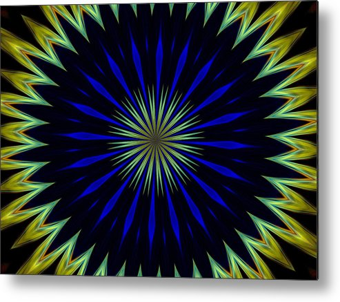 Abstract Photography Metal Print featuring the photograph Nerius by Danny Lally