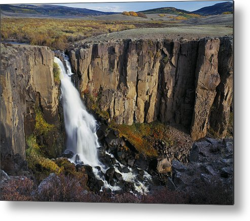 Falls Metal Print featuring the photograph North Clear Creek Falls by Randall Roberts