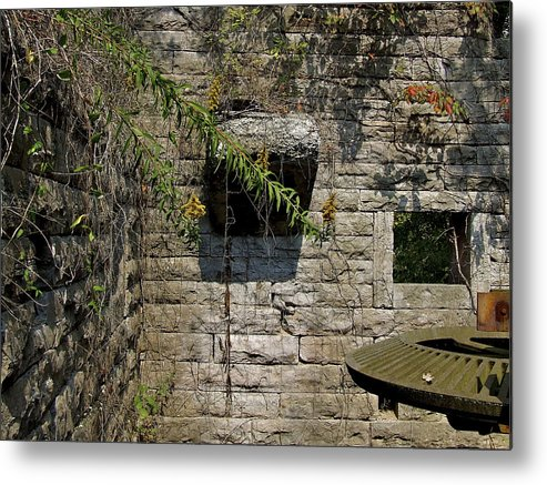 Facades Metal Print featuring the photograph Old Mill by Richard Gregurich
