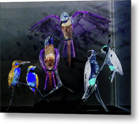 Abstract Metal Print featuring the photograph Ort Der Begegnum Or The Meeting Place by Taylor Steffen SCOTT