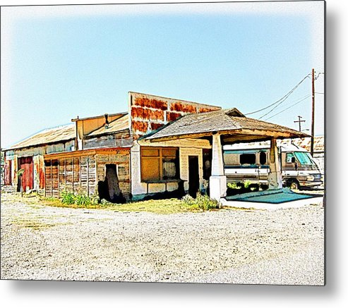 Out Of Business Metal Print featuring the photograph Out Of Business - No.816h by Joe Finney