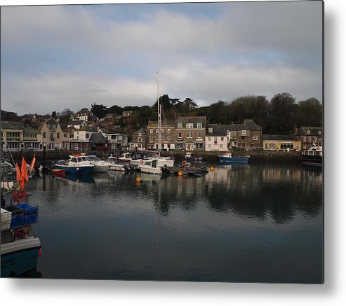 Padstow Metal Print featuring the photograph Padstow Harbour by Christopher Mercer