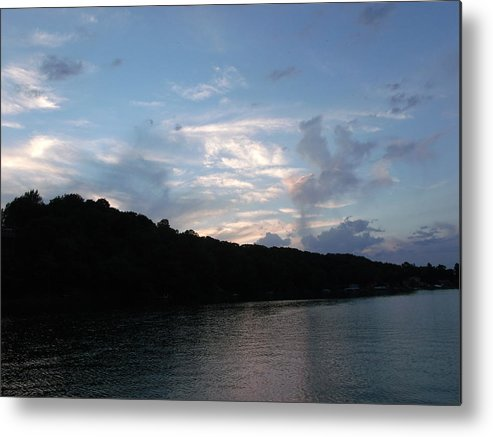 Painted Mountain Lake Metal Print featuring the photograph Painted Mountain Lake by Brian Maloney
