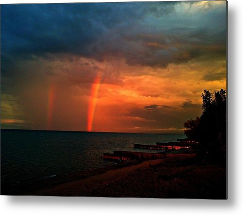 Landscape Metal Print featuring the photograph Radiance by Zane Chowdhery