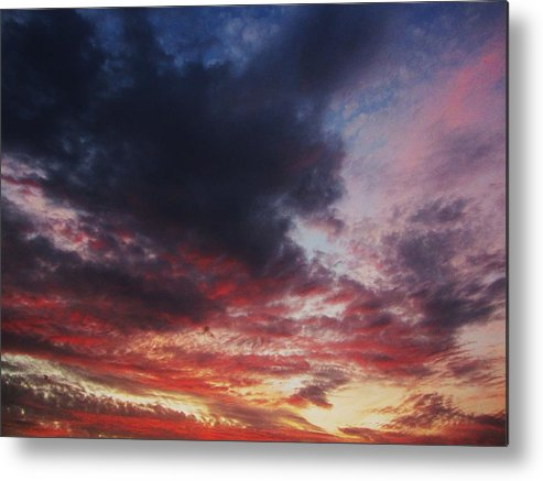 Sky Metal Print featuring the photograph Rainbow Sky by Todd Sherlock