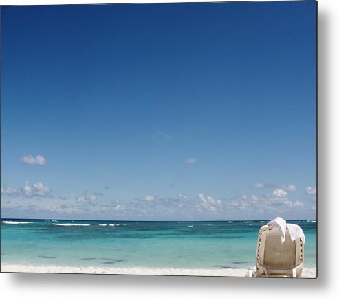 Beach Metal Print featuring the photograph Relax Beach by Marie-france Quesnel