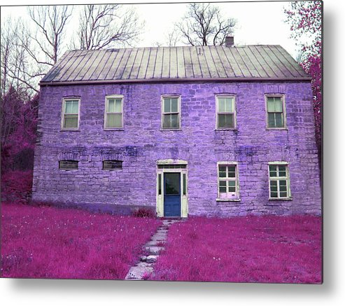 Patricia Metal Print featuring the digital art Renovation by Patricia Erwin