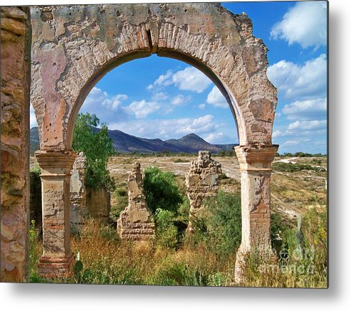 Ruins Metal Print featuring the photograph Ruins Of Mineral De Pozos by John Kolenberg
