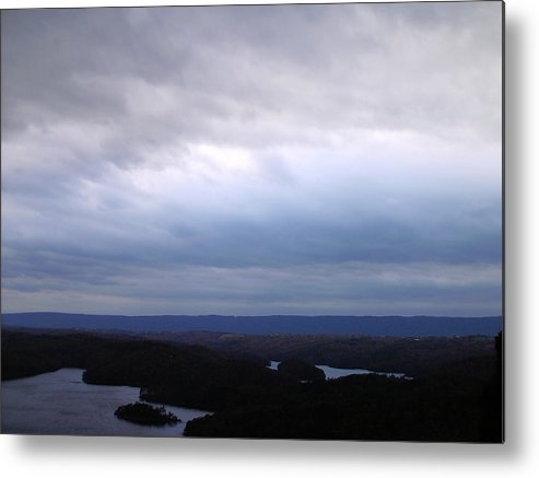 Storm Metal Print featuring the photograph Scenic Sky by Christopher Woytowiez