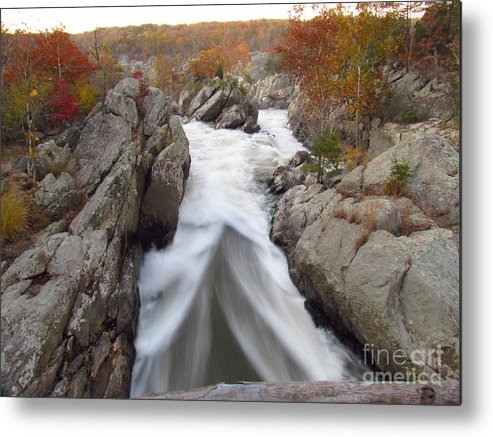 Water Metal Print featuring the photograph Silken Water Tent by Rrrose Pix
