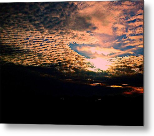 Nature Metal Print featuring the photograph Sky by Zane Chowdhery