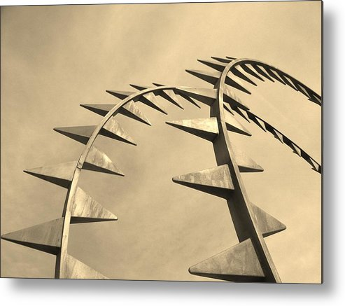 Mod Metal Print featuring the photograph Spike by Shawn Savage