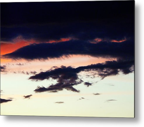 Clouds Metal Print featuring the photograph Strange Clouds by Jose Carlos Patricio