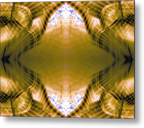 Abstract Landscape Metal Print featuring the photograph Stranger by Danny Lally