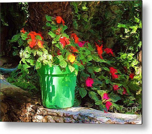 Sun Metal Print featuring the photograph Sunny Delight by John Kolenberg