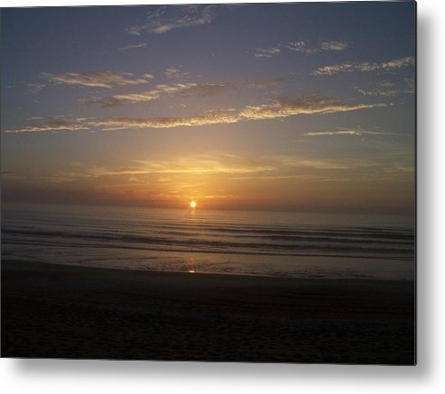 Nature Metal Print featuring the photograph Sunrise by Katie OKeefe