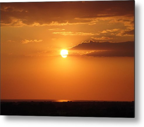 Sunset Metal Print featuring the photograph Sunset by Alessandro Della Pietra