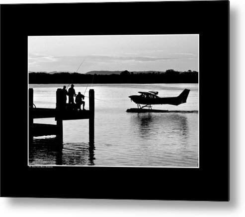 Waterscape Metal Print featuring the photograph The Akuna Comes Home by Dennis Gay