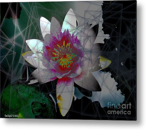 Light Metal Print featuring the digital art The Light From Within by Cheri Doyle