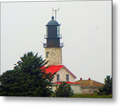 Cape Flattery Metal Print featuring the photograph The Lighthouse Of Tatoosh by Tikvah's Hope