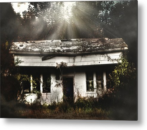 The Shack Metal Print featuring the photograph The Shack by Jessica Brawley