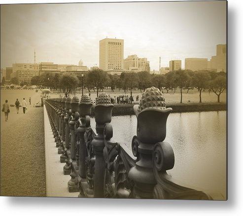 Tokyo Metal Print featuring the photograph Tokyo Square by Naxart Studio