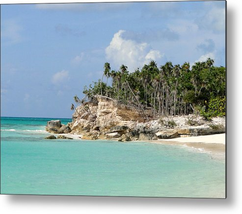 Tropical. Island Metal Print featuring the photograph Turks 5 by Allan Rothman