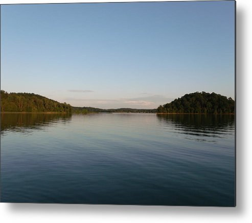 Two Islands Metal Print featuring the photograph Two Islands by Brian Maloney
