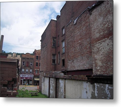 Vacant Metal Print featuring the photograph Vacant Lot by Scott Conner