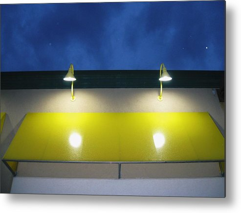 Venus In The Sky Metal Print featuring the photograph Venus In The Sky by Todd Sherlock